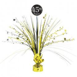 Centre de table brillant à personnaliser Or - Sparkling celebration Déco festive 110417