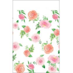 Nappe papier floral Sweet Baby Girl 137x259cm Déco festive 572165