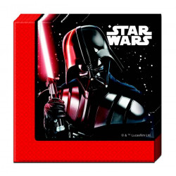Serviettes papier x 20 Star Wars Final Battle ™ 33 cm Déco festive LSTA88139