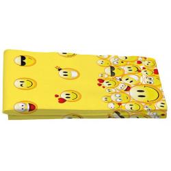 Nappe anniversaire Emoji 180x112cm Déco festive GEMONF4EM