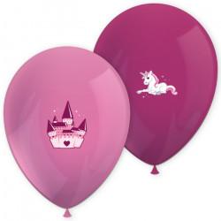 Ballons imprimés licorne x 6 Déco festive GLIC91684