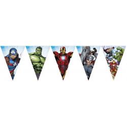 Guirlande fanions Mighty Avengers Déco festive LAVE87971