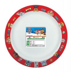 Assiettes x 8 Pat'Patrouille compostable 24 cm Déco festive LPAT92648