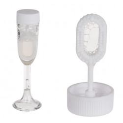 Bulles de savon flûte à champagne 16 ml x 4 Déco festive 360067