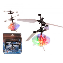 Hélicoptère forme balle Flying UFO avec batterie et cable USB Jouets et articles kermesse 601144