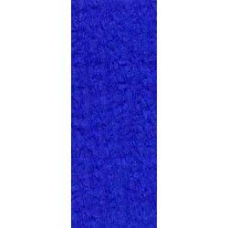 Feuille de crépon bleu roi 2.50 m Déco festive 25044BR