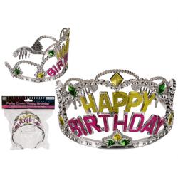 Couronne anniversaire Happy Birthday Accessoires de fête 181059