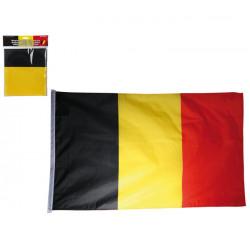 Drapeau Belgique 60x90 cm avec oeillets Déco festive 000861