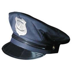 Casquette policier adulte Accessoires de fête 8653204