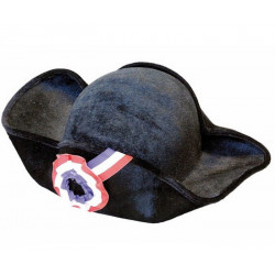 Chapeau bicorne révolution Accessoires de fête 873119