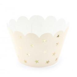 Wraps caissettes à cupcakes pêche x 6 Cake Design FM20-075J