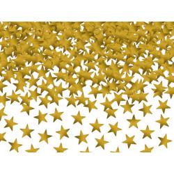 Confettis étoiles dorées 30 g Déco festive KONS6