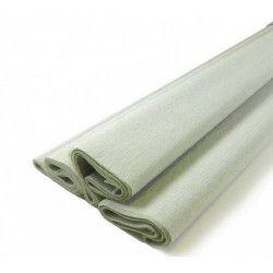 Feuille de crépon gris Déco festive 25044GR