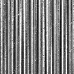 Pailles argent x 10 Déco festive SPP4M-018