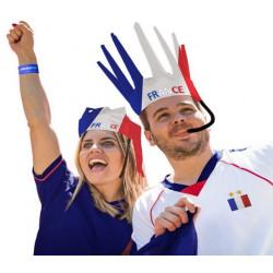 Couronne sifflante supporter France Accessoires de fête 02509