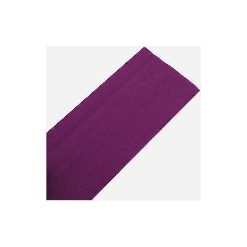 Feuille de crépon violet Déco festive 25044VI