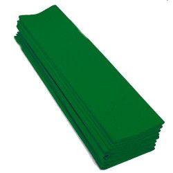 Feuille de crépon vert prairie 2.50 m Déco festive 25044VP