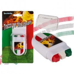 Maquillage 3 bandes drapeau Italie Accessoires de fête 000608