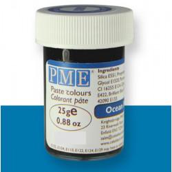Pâte colorant alimentaire bleu océan 25 g PME Cake Design PC1066