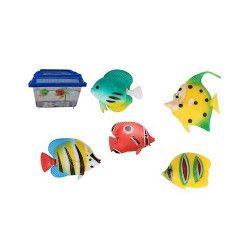 Jouets et kermesse, Lot 100 poissons plastiques kermesse, 25265, 11,90€