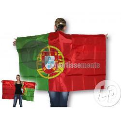 Cape poncho Portugal 90x150cm Accessoires de fête LP00522