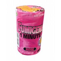 Tube fumigène 1 minute Rose Divers 33090
