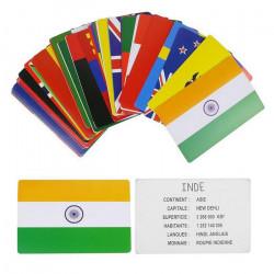 Cartes éducatives Pays et Drapeaux Jouets et articles kermesse EA5032