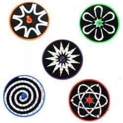 Jouets et kermesse, Toupie laser 6 cm kermesse vendue par 48, 25499-LOT, 0,20€