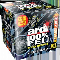 Ardi 100% feu Fire Maxi Décibel 16 secondes Artifices 15279