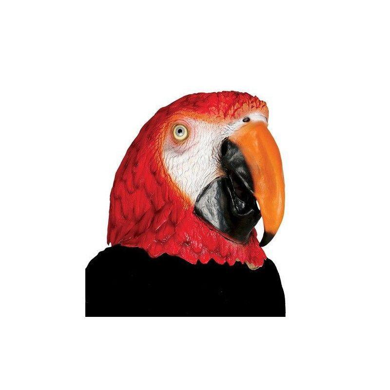 Masque perroquet en latex Accessoires de fête 2565