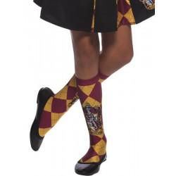 Chaussettes hautes Gryffondor Harry Potter™ enfant Accessoires de fête H-39025
