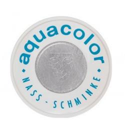 Fard Aquacolor 30 ml Argent métallisé Accessoires de fête 01112-SILVER