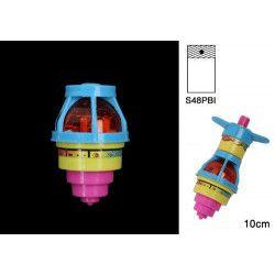 Jouets et kermesse, Toupie lumineuse 10 cm kermesse vendue par 24, 25864-LOT, 0,50€