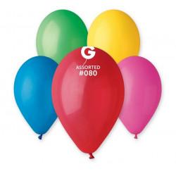 Sachet 10 ballons latex standard 30 cm coloris assortis Déco festive 302585