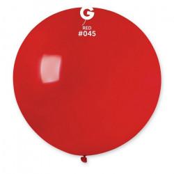 Sachet 1 ballon baudruche géant 80 cm rouge foncé Déco festive 329834