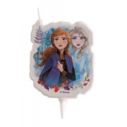 Bougie anniversaire 2D La Reine des Neiges 2™ Déco festive 346227