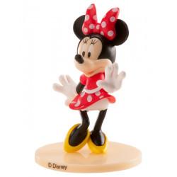Figurine décor gâteaux Minnie Mouse 9 cm Déco festive 347174