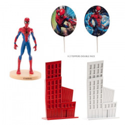 Kit décor gâteaux 8 cm Spider Man Déco festive 350143