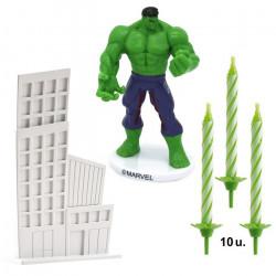 Kit décor gâteaux Hulk Déco festive 350141