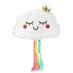 Pinata nuage à tirer 45 cm Déco festive 29514
