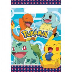 Sachet anniversaire Pokémon x 8 Déco festive 9904824