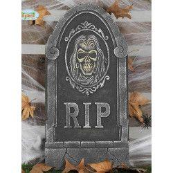 Pierre tombale avec tête de mort déco halloween Déco festive 26127