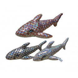 Peluche dauphin laser 30 cm Jouets et articles kermesse 40010