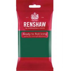 Pâte à sucre Pro Renshaw 250 g vert émeraude Cake Design 02928