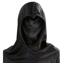 Cagoule noire spandex adulte Accessoires de fête 2950