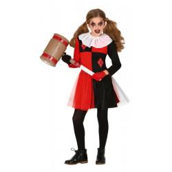 Déguisement arlequin Halloween fille Déguisements 8348-