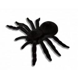 Mygale noire 20 cm halloween Déco festive 333016
