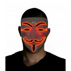Masque led Anonymous Accessoires de fête 40930890
