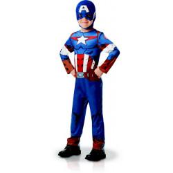 Déguisement classique Captain America™ garçon Déguisements I-640832-1