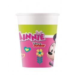 Gobelets carton Minnie Happy Helpers x 8 Déco festive LMIN93474